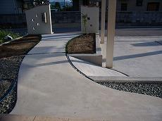コンクリートアプローチ